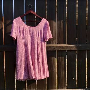 Vintage Romper All That Jazz ditzy daisy pink